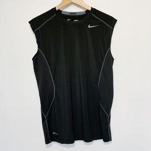 Nike Pro Combat Black Tank Top Shirt